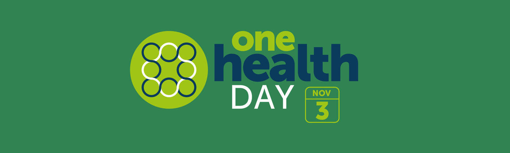 The international One Health Day banner.